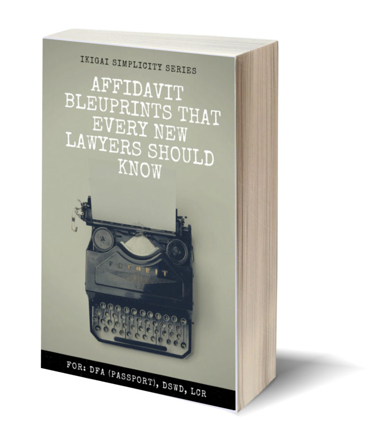 Affidavit Blueprint: Available soon at Amazon